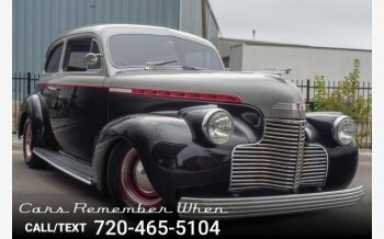 1940 Chevrolet Other Chevrolet Models for sale 101039540