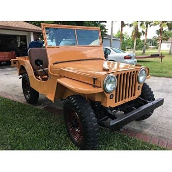 1945 Willys CJ-2A for sale 100823222