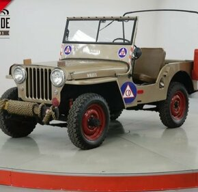 1946 Willys CJ-2A for sale 101093124