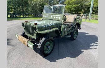 1946 Willys CJ-2A for sale 101422158