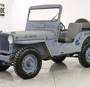 1947 Jeep CJ-2A for sale 101338477