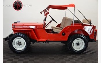 1947 Willys CJ-2A for sale 101033629