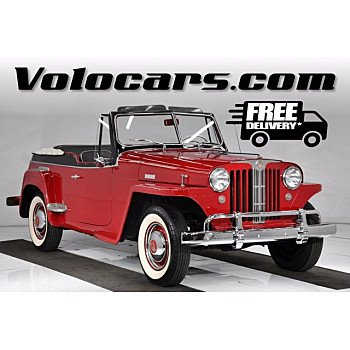 1948 Willys Jeepster for sale 101398708
