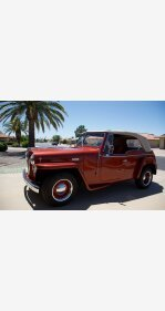 1949 Willys Jeepster Phaeton for sale 101317233