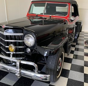 1950 Willys Jeepster for sale 101337158