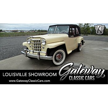 1950 Willys Jeepster for sale 101227544