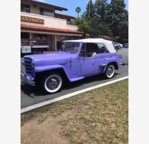 1950 Willys Jeepster for sale 101362410