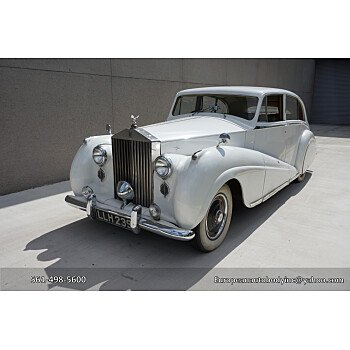 1951 Rolls-Royce Silver Wraith for sale 100959832