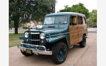 1954 Willys Station Wagon for sale 101236788