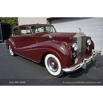 1956 Rolls-Royce Silver Wraith for sale 100959830