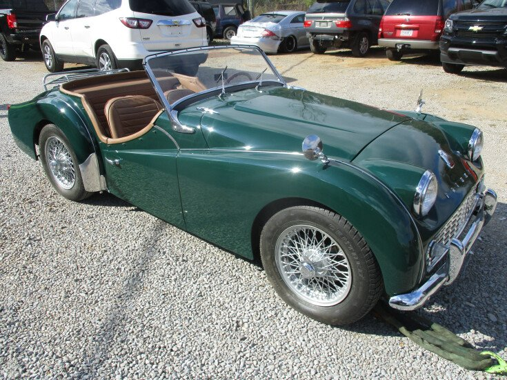 1957 Triumph TR3 For Sale Near Moody, Alabama 35004