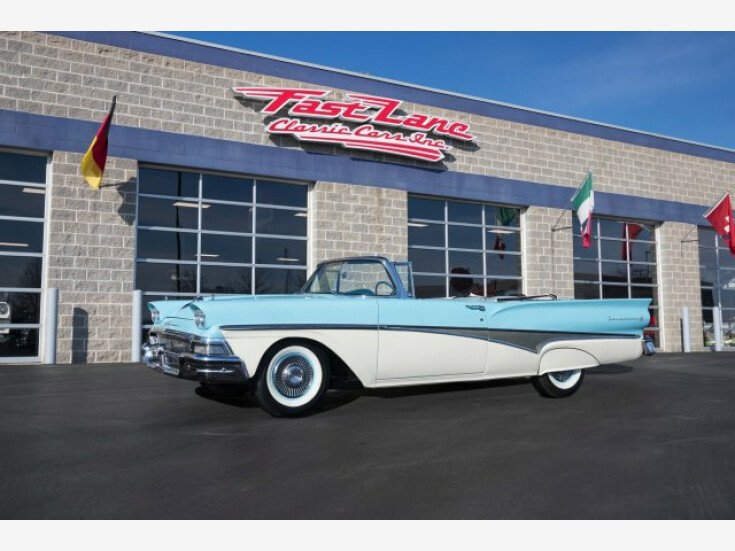1958 Ford Fairlane For Sale Near St Charles Missouri 63301