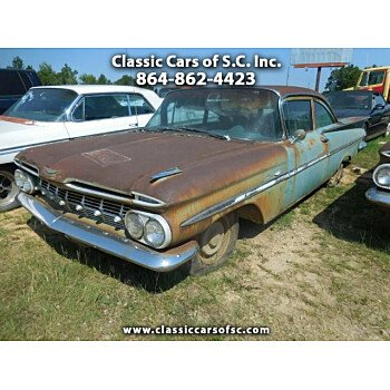 1959 Chevrolet Bel Air for sale 101191090