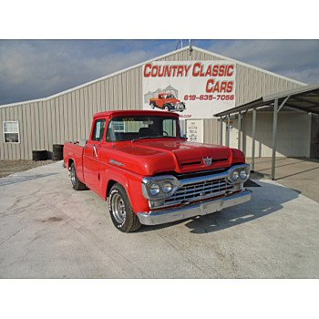 1960 Ford F100 for sale 101432650