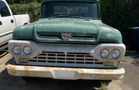 1961 Ford F100 2WD Regular Cab for sale 101336079