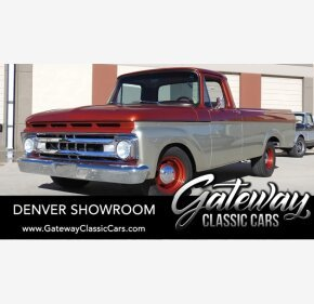 1961 Ford F100 for sale 101425508