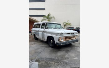 1962 Chevrolet Suburban 2WD for sale 101512794