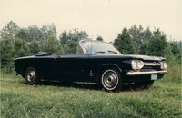 1963 Chevrolet Corvair Monza Convertible for sale 101229403
