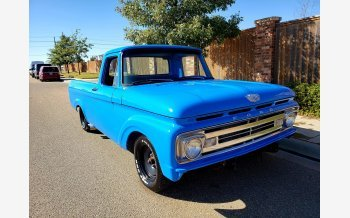 1963 Ford F100 2WD Regular Cab for sale 101228016