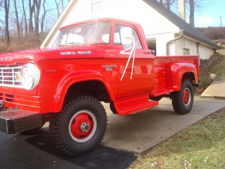 1966 dodge truck 4x4