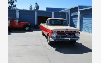 1966 Ford F100 2WD Regular Cab for sale 101047203