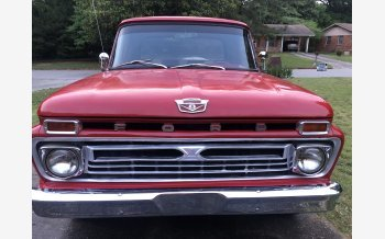 1966 Ford F100 2WD Regular Cab for sale 101535659