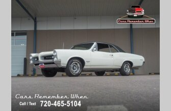 1966 Pontiac GTO for sale 101320232