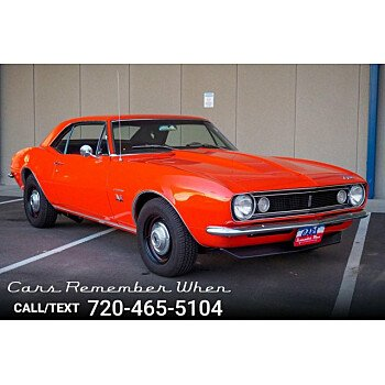 1967 Chevrolet Camaro for sale 100995705