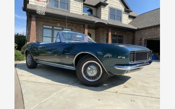 1967 Chevrolet Camaro RS Convertible for sale 101628801