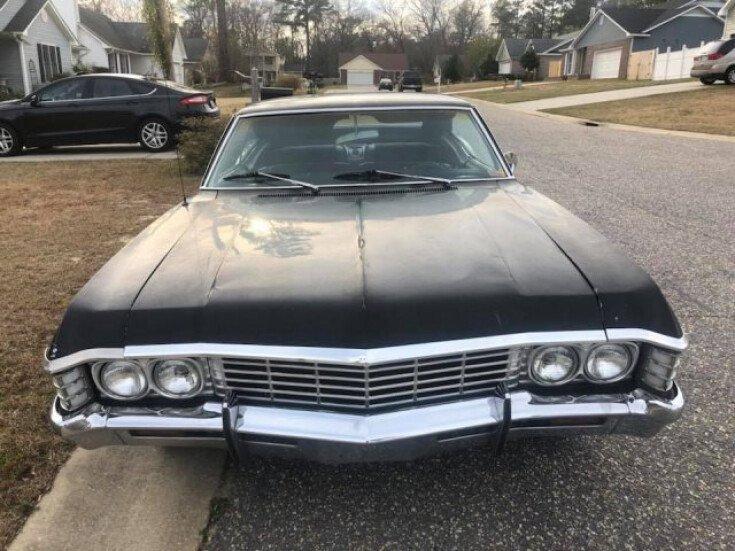 1967 Chevy Impala Craigslist >> 1967 Chevrolet Impala For Sale Near W Pittson Pennsylvania