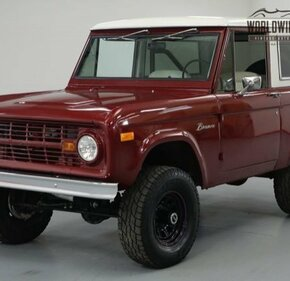 1967 Ford Bronco for sale 101044422