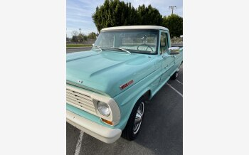 1967 Ford F100 2WD Regular Cab for sale 101459090