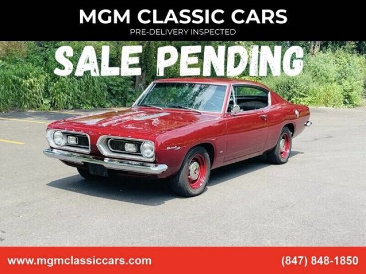 1967 Plymouth Barracuda for sale 101559485