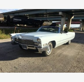 1968 Cadillac De Ville Convertible for sale 101187846