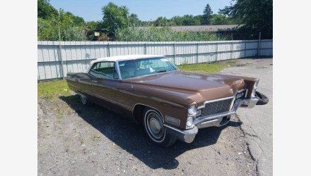 1968 Cadillac De Ville for sale 101351880