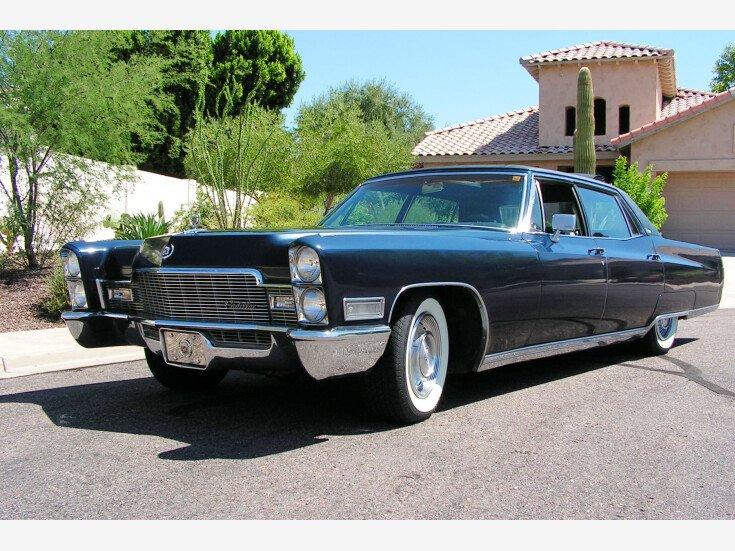 1968 Cadillac Fleetwood 60 Special Sedan For Sale Near Mesa Arizona