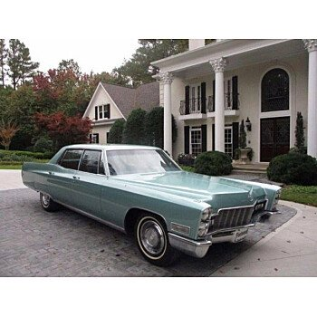 1968 Cadillac Fleetwood for sale 101055706