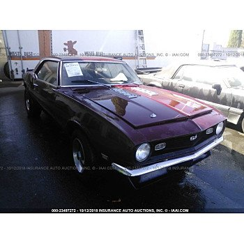 1968 Chevrolet Camaro for sale 101101567