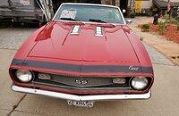 1968 Chevrolet Camaro Convertible for sale 101389506