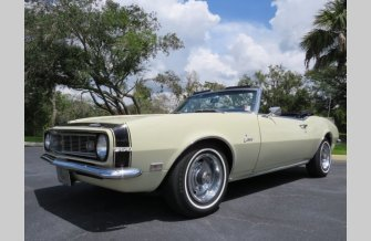 1968 Chevrolet Camaro Convertible for sale 101372217