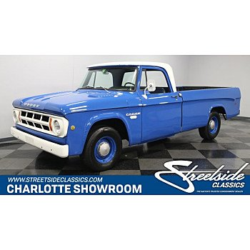 1968 Dodge D/W Truck for sale 101074703