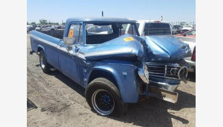 1968 Dodge D/W Truck for sale 101328286