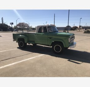 1968 Dodge D/W Truck 2WD Regular Cab for sale 101429354