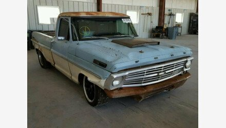 1968 Ford F100 for sale 101058835