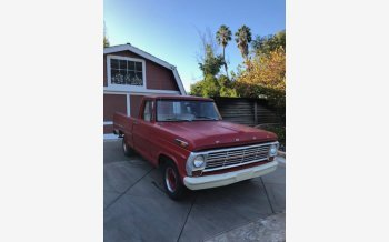 1968 Ford F100 2WD Regular Cab for sale 101225508