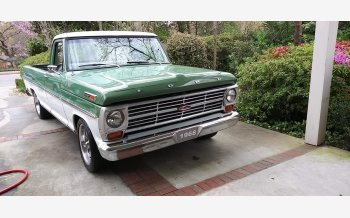 1968 Ford F100 2WD Regular Cab for sale 101282131