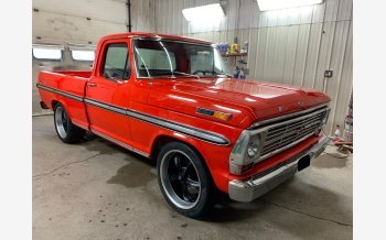 1968 Ford F100 2WD Regular Cab for sale 101304838