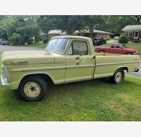 1968 Ford F100 2WD Regular Cab for sale 101346426