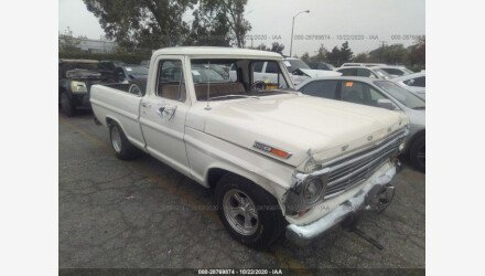 1968 Ford F100 for sale 101409943