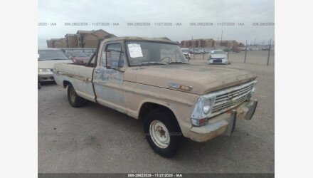 1968 Ford F100 for sale 101414602